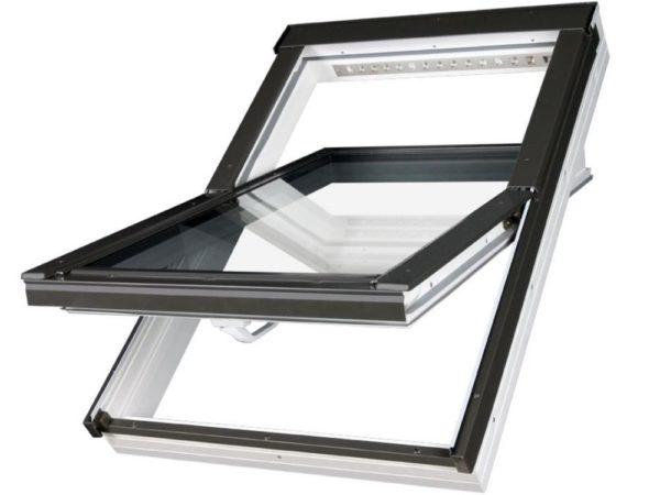 Алюминиевые мансардные окна