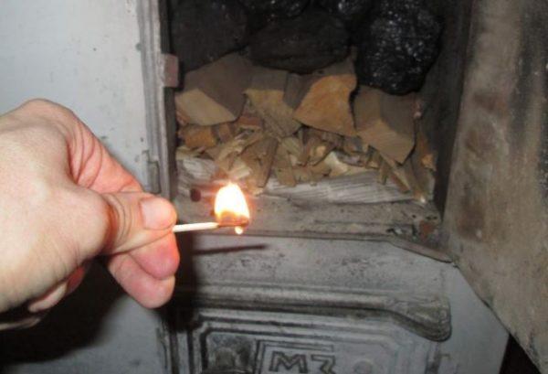 Проверки тяги по отклонению пламени