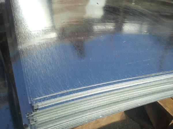 Листы металла для изготовления дымника