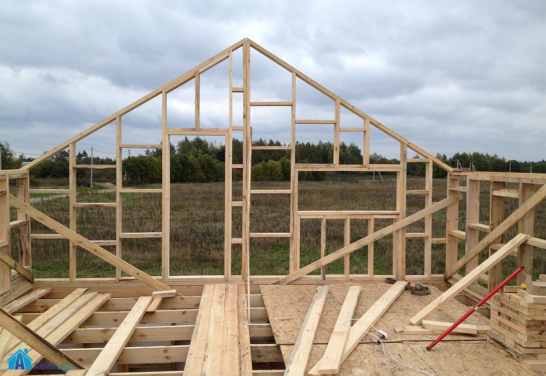 Как сделать дом из каркаса 301