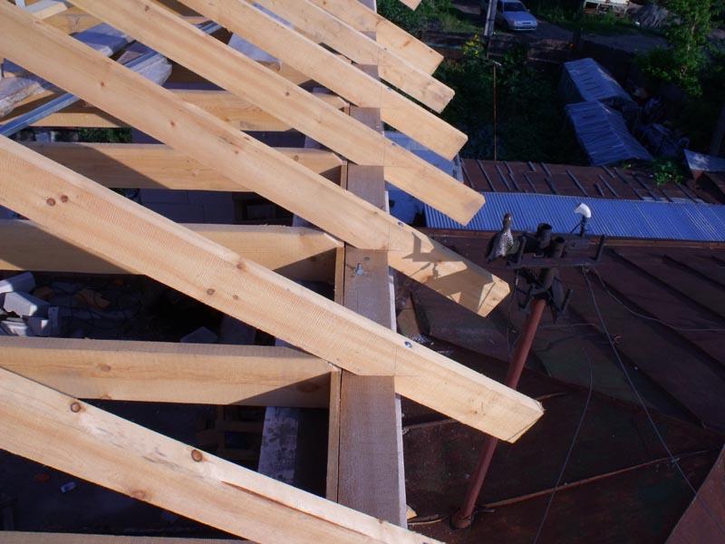 Перекрытие крыша своими руками 101
