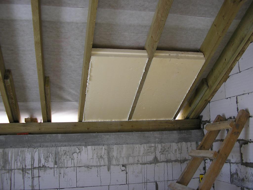 Утеплить деревянный потолок пенопластом своими руками 72