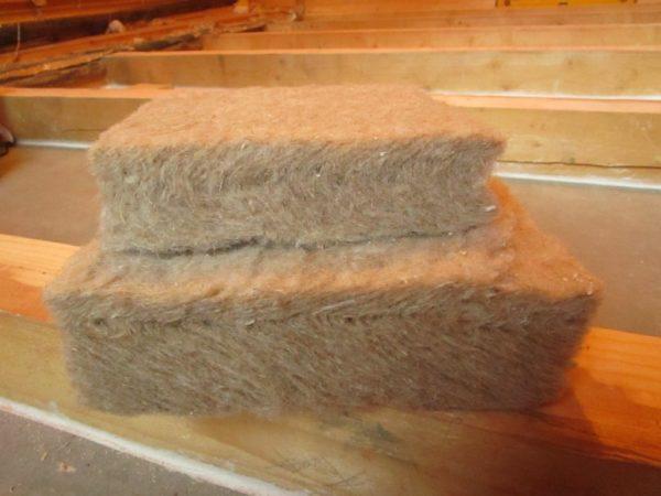 Утеплитель из льняных волокон
