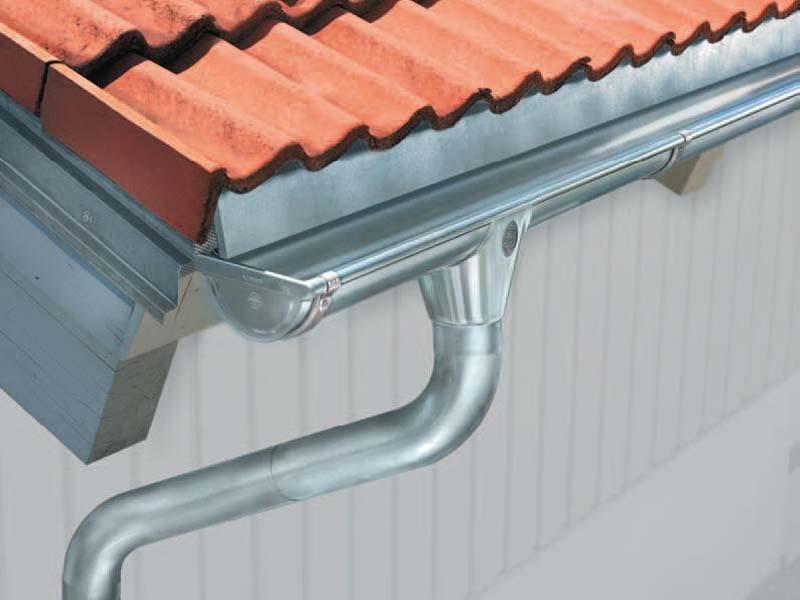 Как установить металлические отливы на крышу своими руками 19