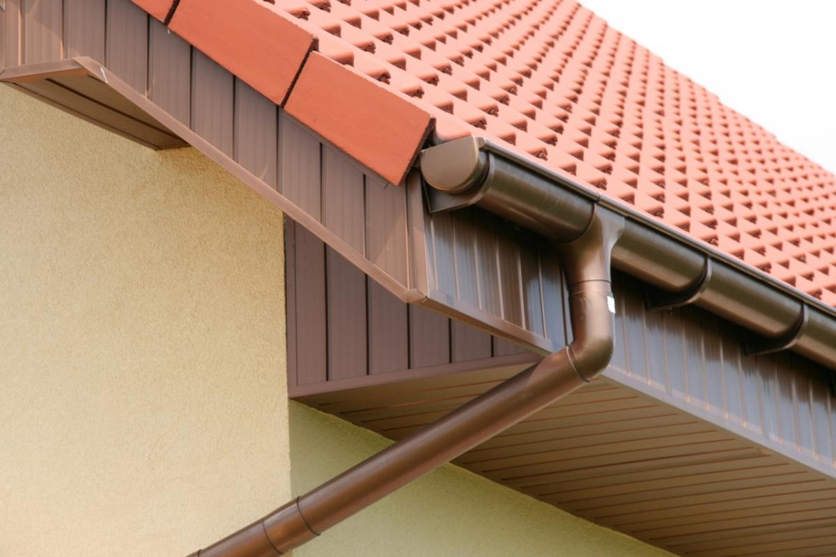 Изготовление водостоки для крыши