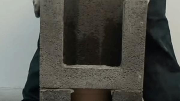Вторая деталь керамического дымохода