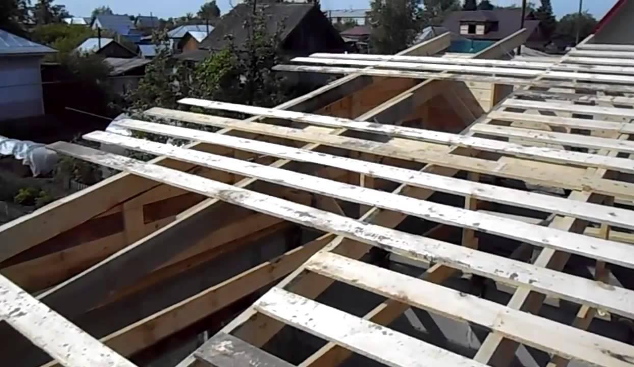 Как сделать крышу в гараже своими руками фото 65