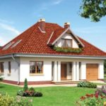 Вальмовая крыша с чердачным помещением