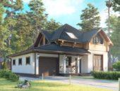 Дом с максимальной комплектацией крыши