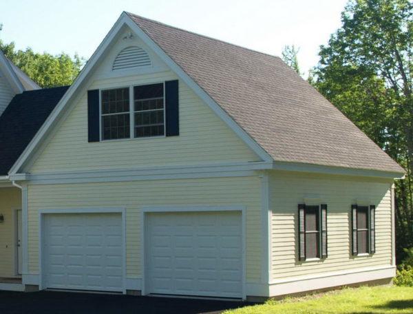 Вариант симметричной двухскатной крыши