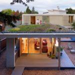 Ландшафтный дизайн на плоской крыше