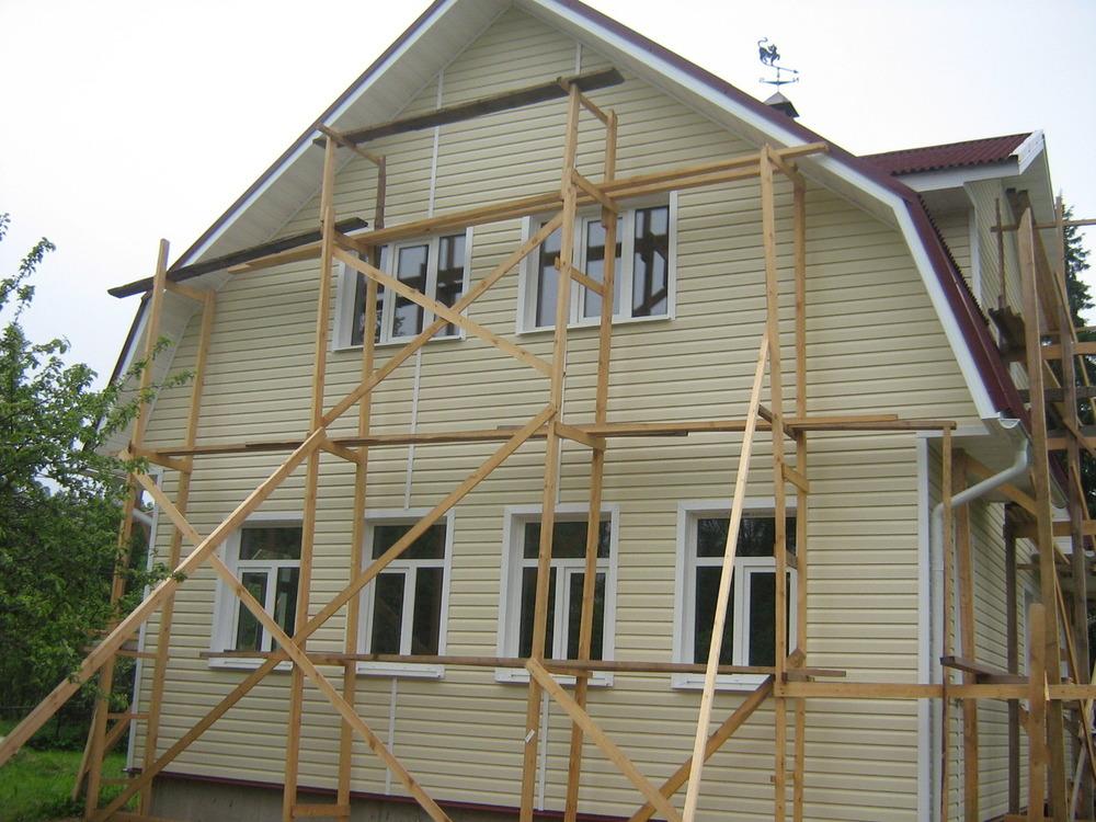 Как сделать торцы крыши деревянного дома фото