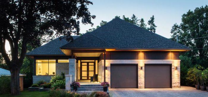 Шатровая крыша: красиво и функционально