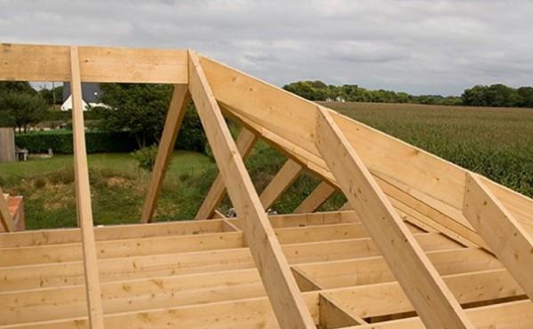Как сделать стропила на вальмовую крышу 39