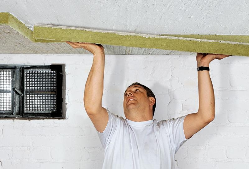 Утепление железной крыши