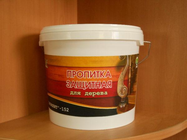 Защитная пропитка для древесины