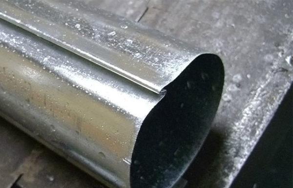 Изготовление водосточной трубы