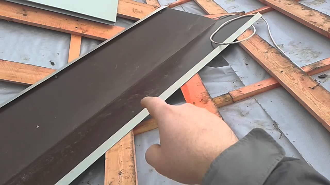 Монтаж водостоков для крыши своими руками: устройство водост.