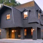 Оригинальная крыша жилого дома