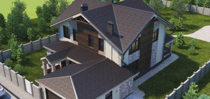 Крыша многощипцовая