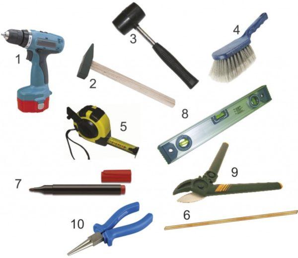 Монтажные инструменты