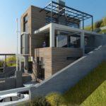 Крыша дом сложной формы