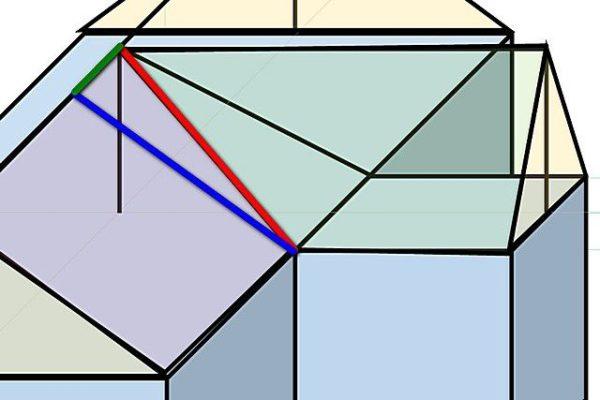 Расчёт элементов крыши