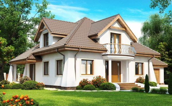 Внешнее оформление жилого здания