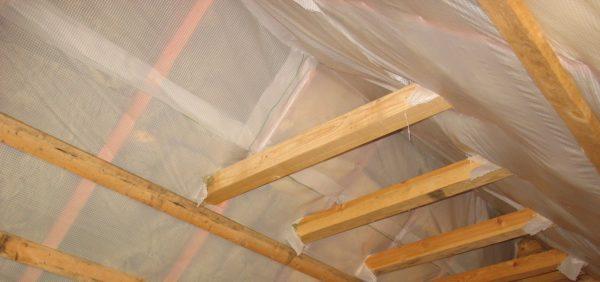 Гидроизоляция крыши изнутри