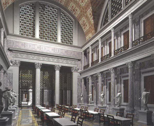 Использование сланца в Древнем Риме