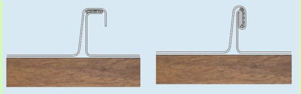 Закладка герметика в фальц