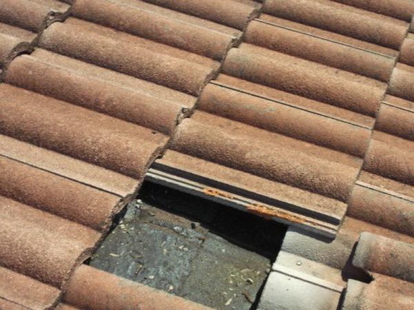 Крыша без одного черепка