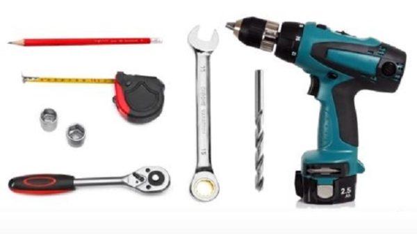 Набор инструментов для установки снегозадержателей