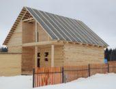 Крыша из рубероида