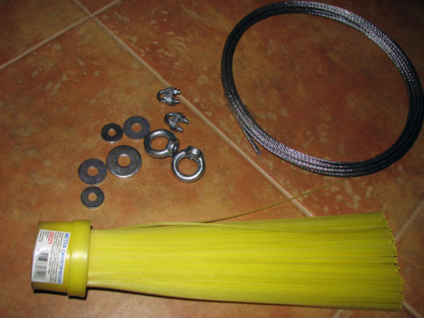 Материалы для изготовления пластикового ерша