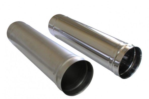 Одностенная труба из нержавеющей стали