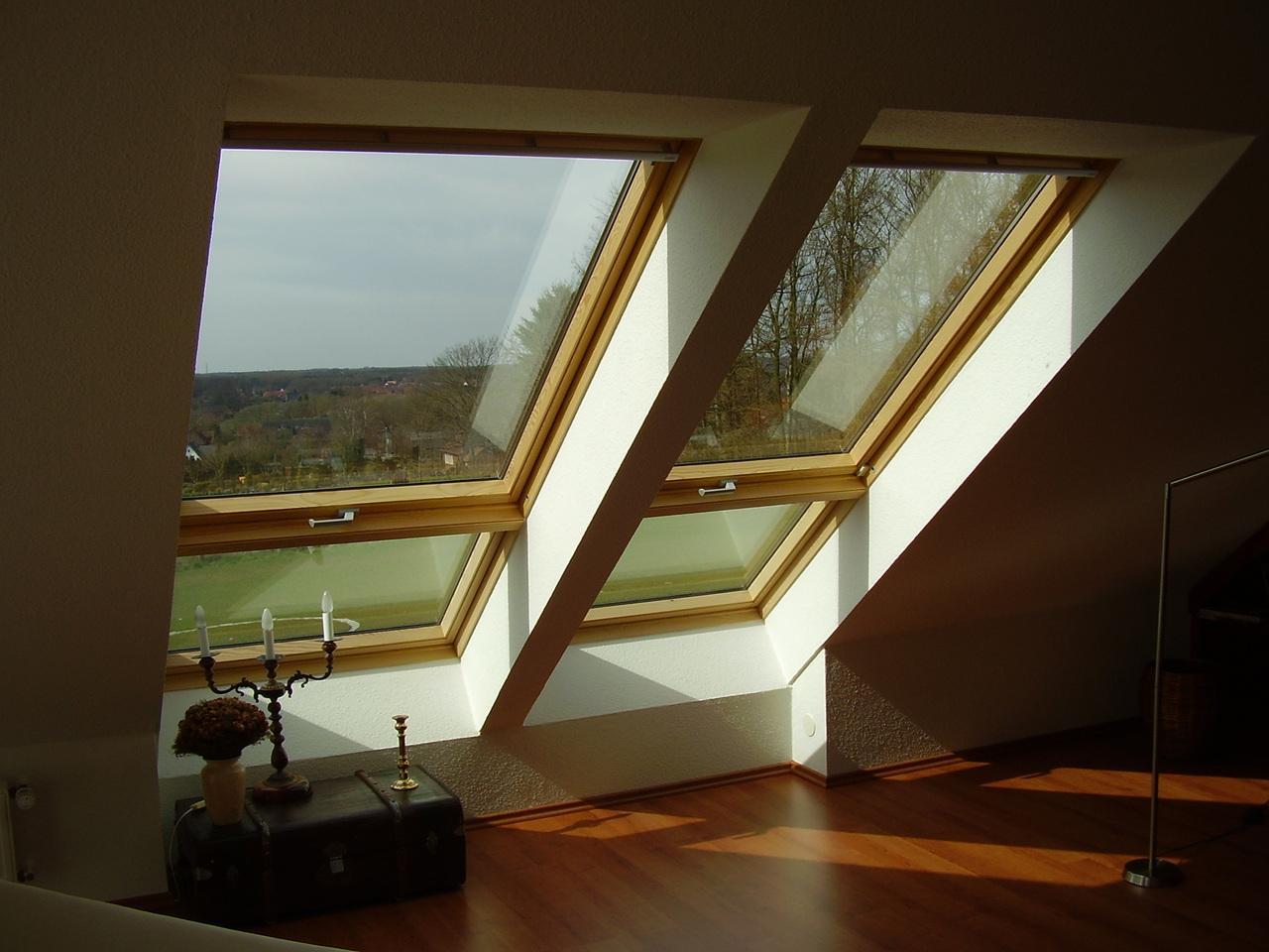 Мансардное окно