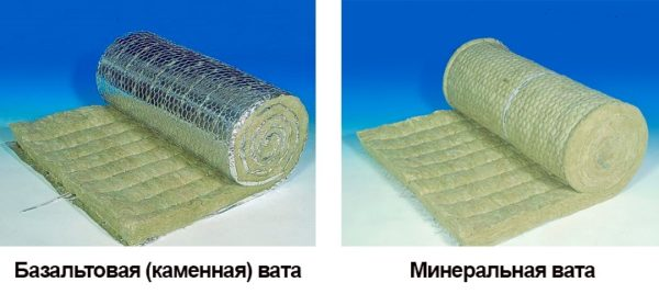 Отличия базальтовой ваты от минеральной