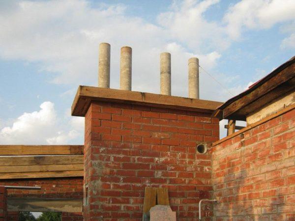 Асбоцементные трубы в качестве дымохода