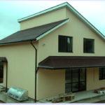 Оригинальная крыша дома