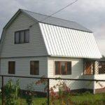 Простая ломаная крыша