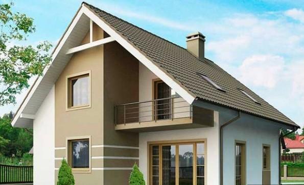 Внешний дизайн дома 9 на 10