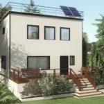 Компактный двухэтажный дом