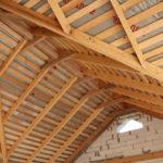 Стропила для многощипцовой крыши