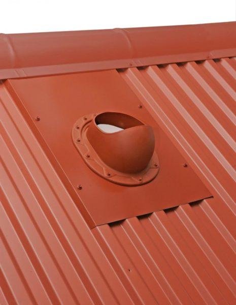 Крыза для герметизации дымохода