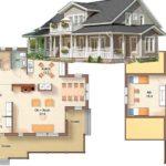 Обширный дом для большой семьи