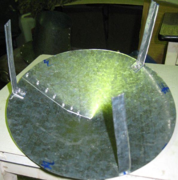 Процесс изготовления колпака дефлектора