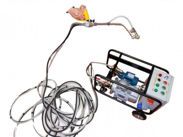 Оборудование для нанесения жидкой резины