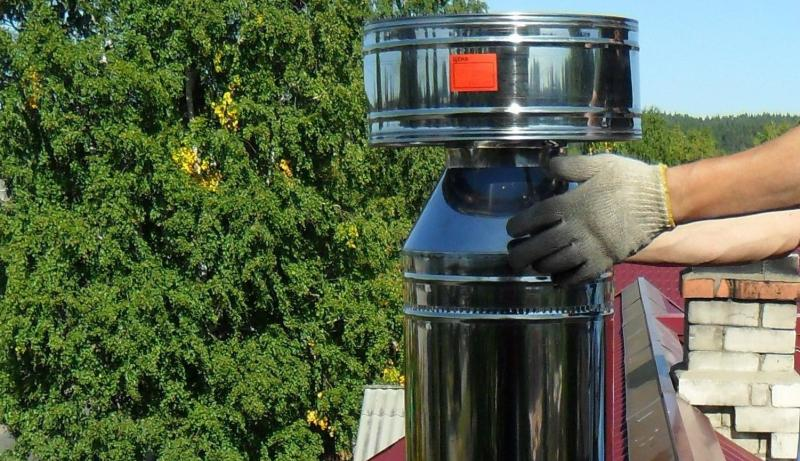 дефлектор для дымохода