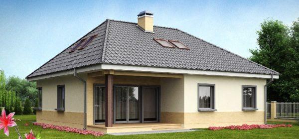 Классическая вальмовая крыша